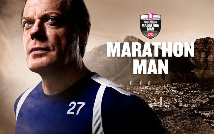 eddie izzard marathon man
